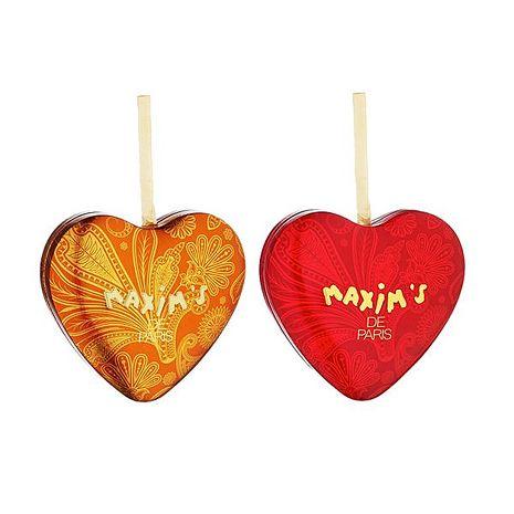 【巴黎美心】馬克西姆-Maxim's 婚禮小物-迷你心禮盒一對 32g - APP