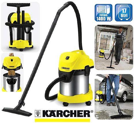 【Karcher德國凱馳】 乾濕兩用吸塵器 WD3300 WD3.300