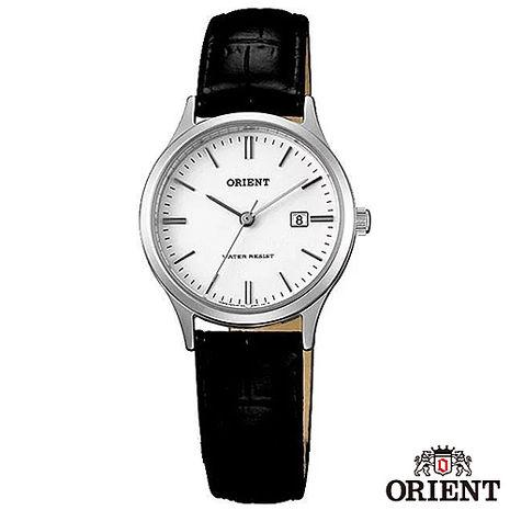 ORIENT東方錶 典雅復古風石英女錶-白x28mm FSZ3N004W0