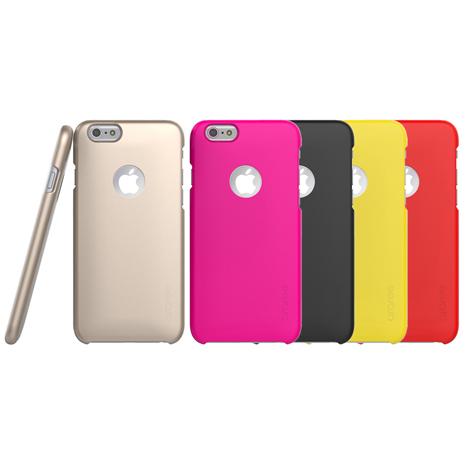 Araree iPhone 6/6S Plus 超薄感應卡保護殼桃紅色