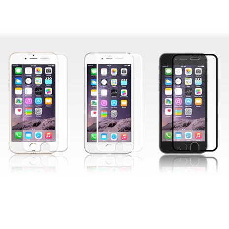 Araree iPhone 6/6S Plus CORE+ 滿版玻璃保護貼 (正韓公司貨)黑色