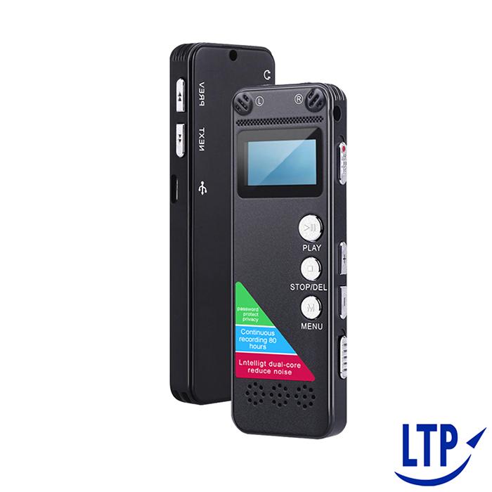 【LTP】內建 8G高音質持續50小時專業錄音筆支援聲控錄音+密碼保護(雙11)