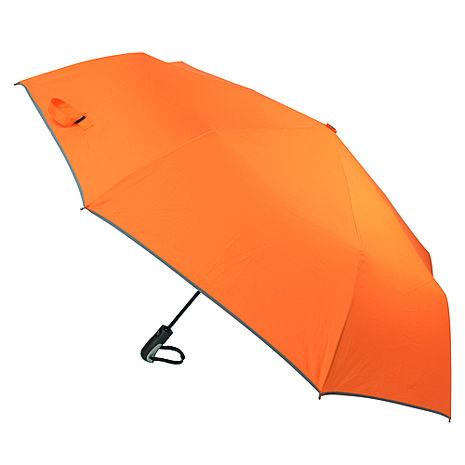 (特賣)【2mm】超大運動型男超大傘面自動開收傘(橘色)