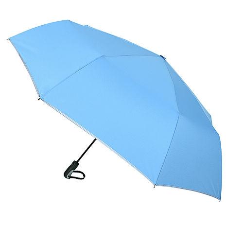 (特賣)【2mm】超大運動型男超大傘面自動開收傘(灰藍)
