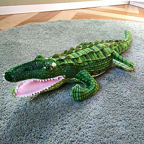 絨毛惡搞玩具/造型抱枕/靠枕(鱷魚)