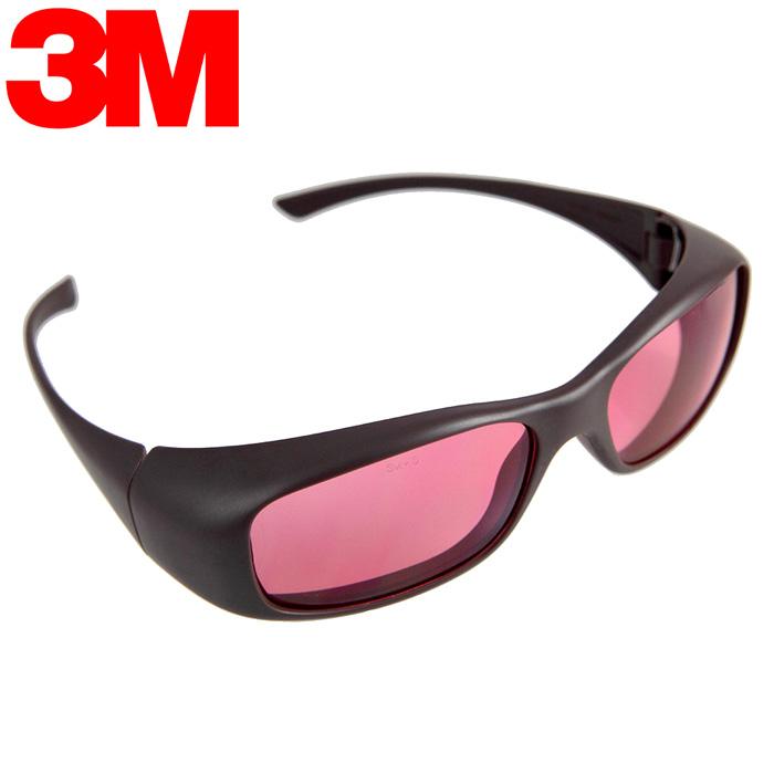 《3M》 耐衝擊運動眼鏡 (OSE 22101紅色)