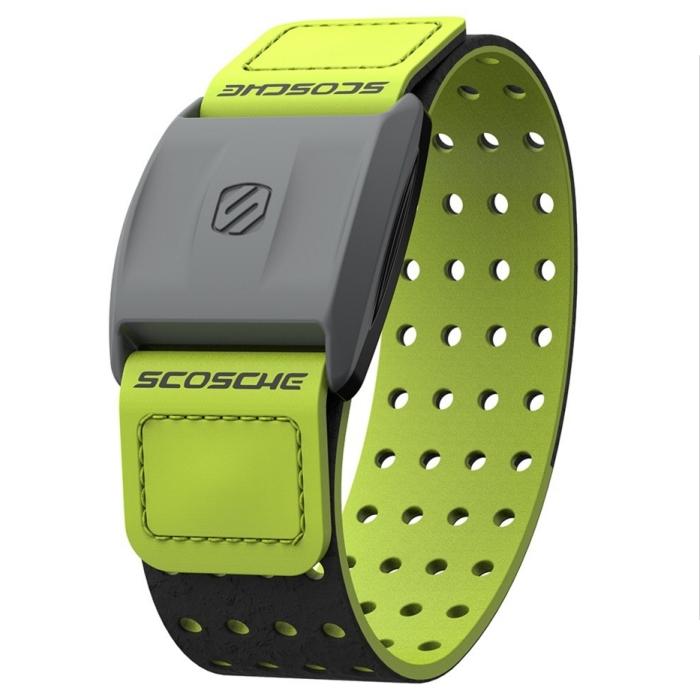 Scosche Rhythm+ 手臂式心跳帶 - 綠色(可搭配Garmin Polar Bryton PAPAGO等GPS手錶或iPhone、Android手機)