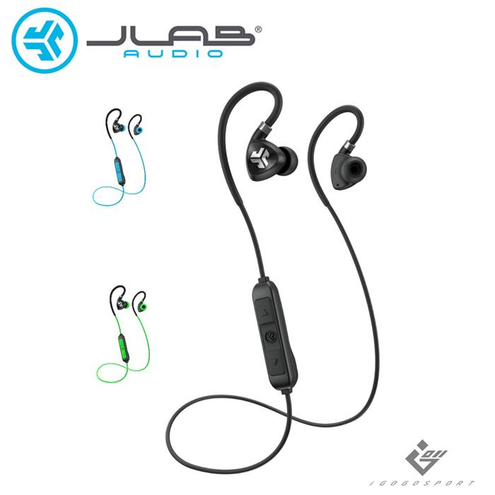 JLab Fit 2.0 藍牙運動耳機黑色