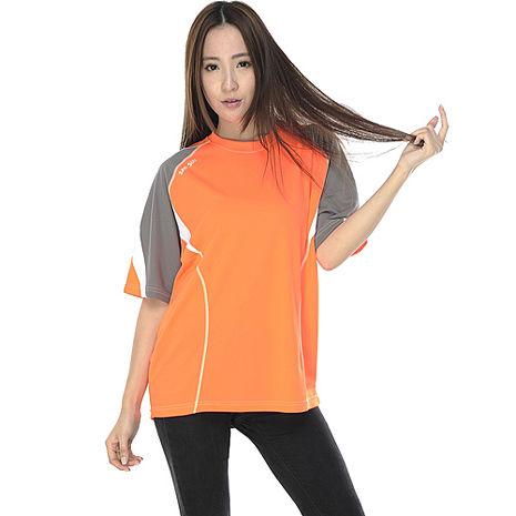 【SAIN SOU】MIT吸濕排汗短袖圓領T恤(中性款)T26418L