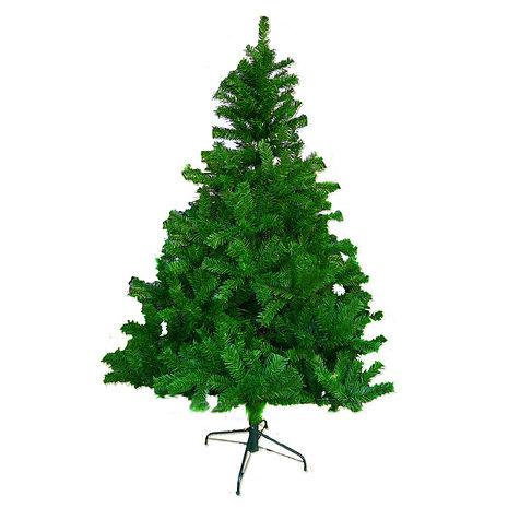 【摩達客】(預購3~5天出貨)台灣製 8呎/8尺(240cm)豪華版綠聖誕樹裸樹 (不含飾品)(不含燈)