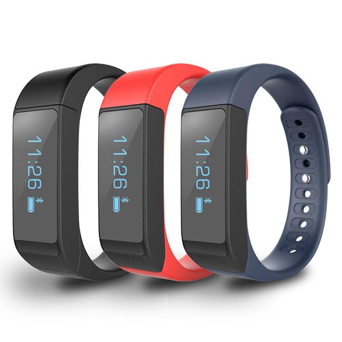 【18光棍11折】MTK生活防水觸控運動智慧手環mi3藍色