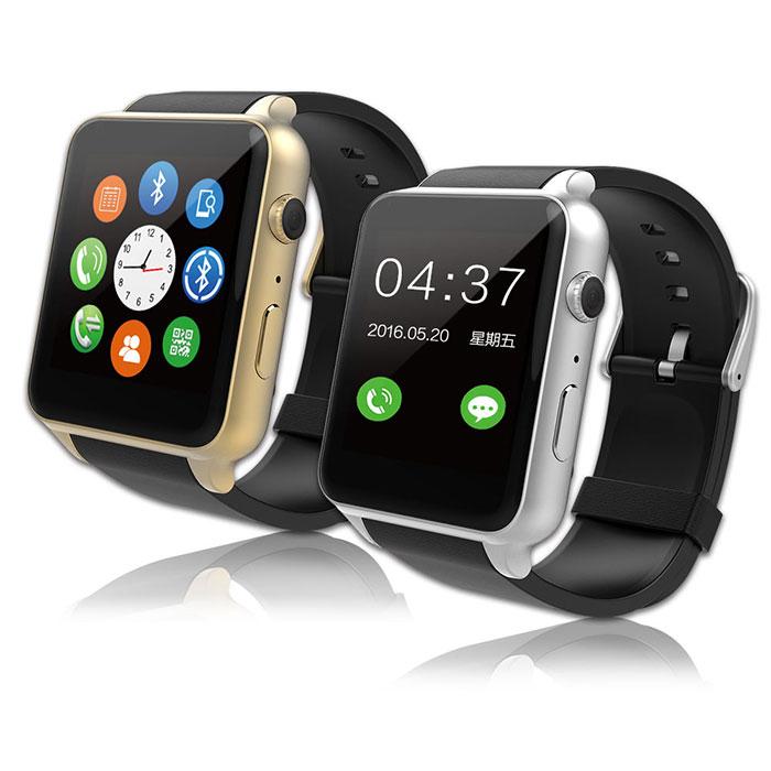 【獨家破盤】SmartWatch金屬質感智能手錶(IPS貼合屏技術)銀色