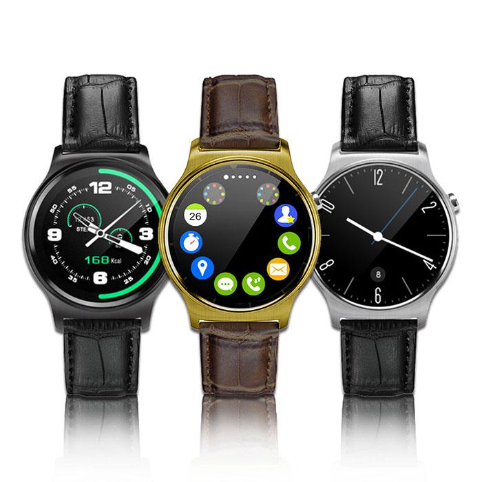 【獨家破盤】長江S3經典圓款心率智能通話手錶(公司貨)金色