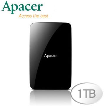 Apacer 宇瞻 AC233 1TB 2.5吋 USB 3.0 行動硬碟