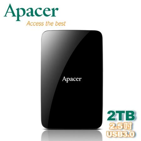 [APP下殺] Apacer 宇瞻 AC233 2TB 2.5吋 USB 3.0 行動硬碟