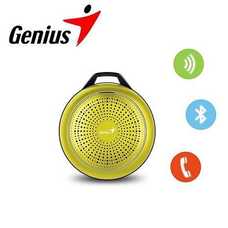 Genius 昆盈 彩色金屬質感藍牙喇叭SP-906BT Plus湖水綠GN