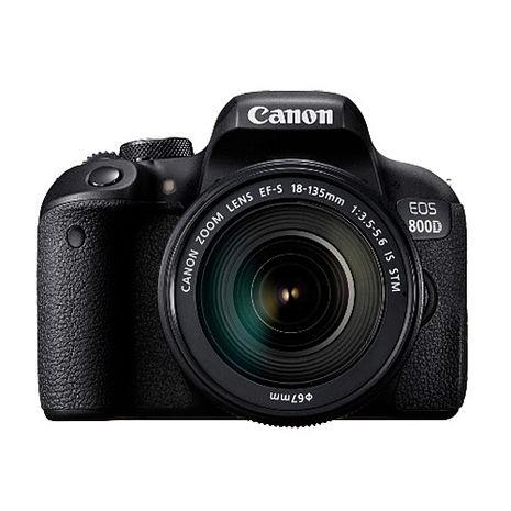 【領券折】CANON EOS 800D + 18-135 STM 單鏡組-送清潔組+保護貼