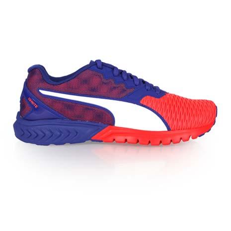 【PUMA】IGNITE DUAL WNS 女慢跑鞋- 路跑 訓練 藍橘黑24.5