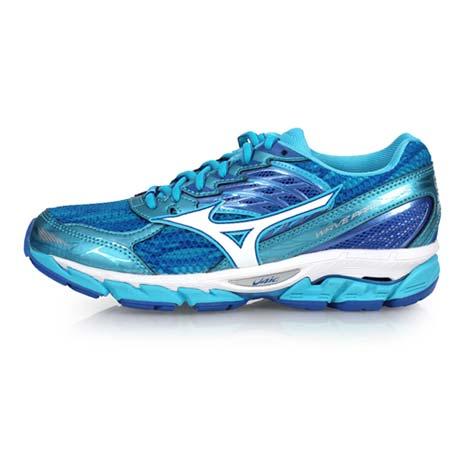 【MIZUNO】WAVE PARADOX 3 女慢跑鞋-路跑 訓練 美津濃 水藍白24.5
