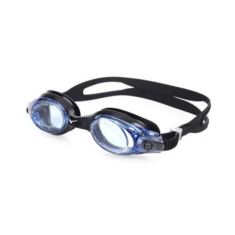 【MIZUNO】SWIM 泳鏡 -蛙鏡 游泳 競賽 抗UV 防霧 黑藍F