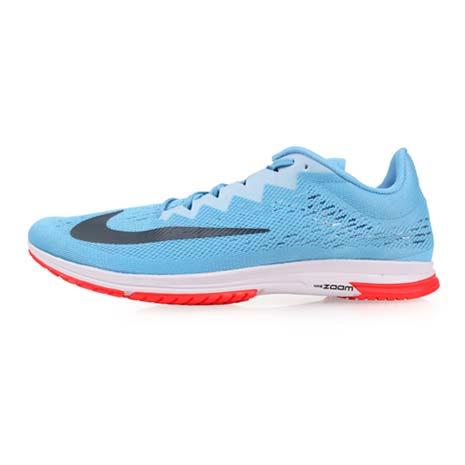 【NIKE】AIR ZOOM STREAK LT 4 男女路跑訓練鞋-健身 路跑 天藍深灰24