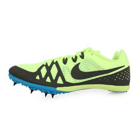 【NIKE】ZOOM RIVAL M 8 男女田徑釘鞋-中距離 螢光綠灰28.5