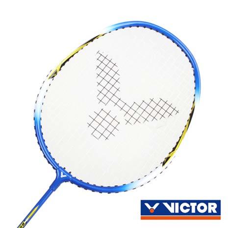 【VICTOR】亮劍穿線拍-羽球 羽毛球拍 訓練 勝利 藍黃F
