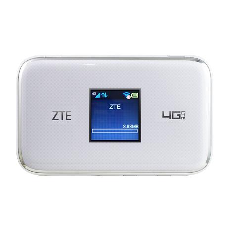 【APP活動】【拆封新品】【ZTE 中興】ZTE MF970 4G 無線路由器 白