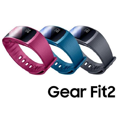【拆封新品】三星原廠 SAMSUNG Gear Fit2 R360 藍牙智慧運動手環 藍色