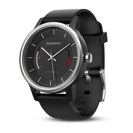 GARMIN vivomove 智慧指針式腕錶 (時尚運動風)動感黑