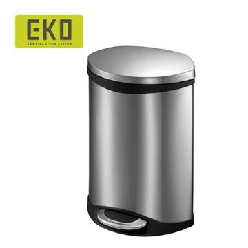 EKO海貝靜音垃圾桶-10L (四色可選)米白色