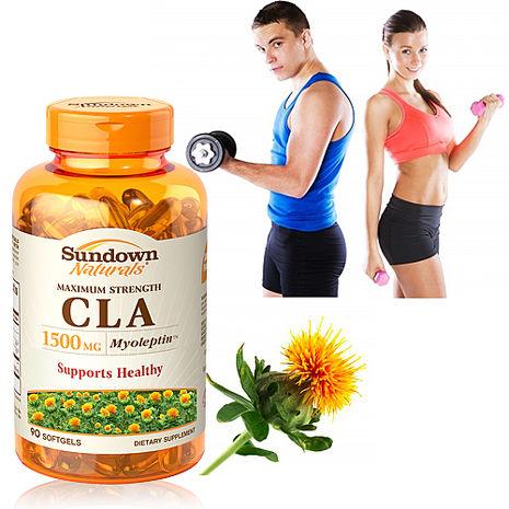 美國Sundown日落恩賜 紅花籽油CLA 1500mg軟膠囊(90粒/瓶) (APP)