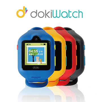 APP活動優惠-dokiWatch兒童智慧手錶-芒果黃