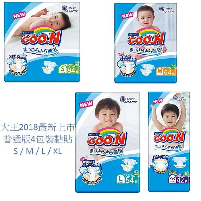 【日本境內大王】阿福狗-黏貼型S / M / L / XL4包x1箱(黏)M64片x4包/箱