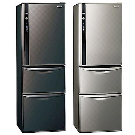 Panasonic 國際 NR-C389HV 變頻 385公升 三門電冰箱NR-C389HV-K鐵灰