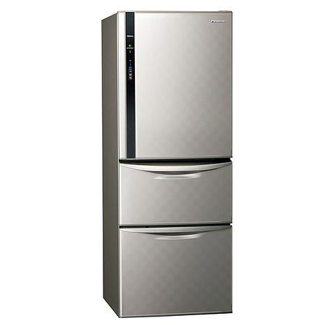 Panasonic 國際 NR-C479HV-S 淺灰 變頻 468公升 三門 電冰箱