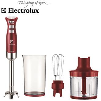 Electrolux 伊萊克斯 Ultramix Pro 手持攪拌棒 ESTM6400R ◆350W強大馬力◆專業級三片式刀頭
