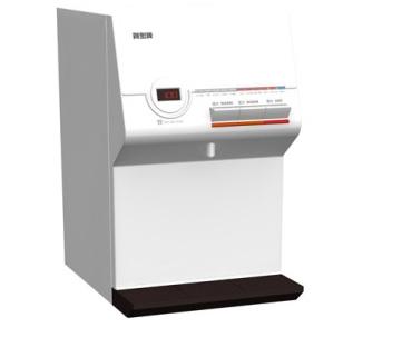 ‵107/12/31前加贈半年份濾芯 賀眾牌 微電腦溫熱桌上型純水飲水機 UR-672BW-1 含基本安裝 (產品效率分級:第3級 )