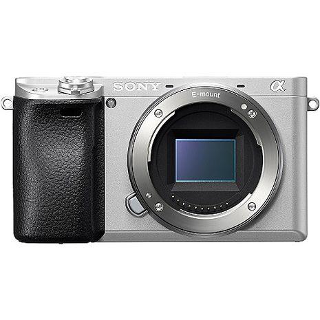 銀色款 SONY 單眼相機 A6300 單機身公司貨 ILCE-6300 ★107/8/5前贈琺瑯杯+原電(共2顆)+32G高速卡+座充+吹球清潔組+保護貼
