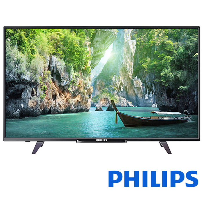 Philips 飛利浦 55吋 連網 淨藍光 LED液晶顯示器+視訊盒 55PFH5800 (含基本安裝/不含外島運送安裝)