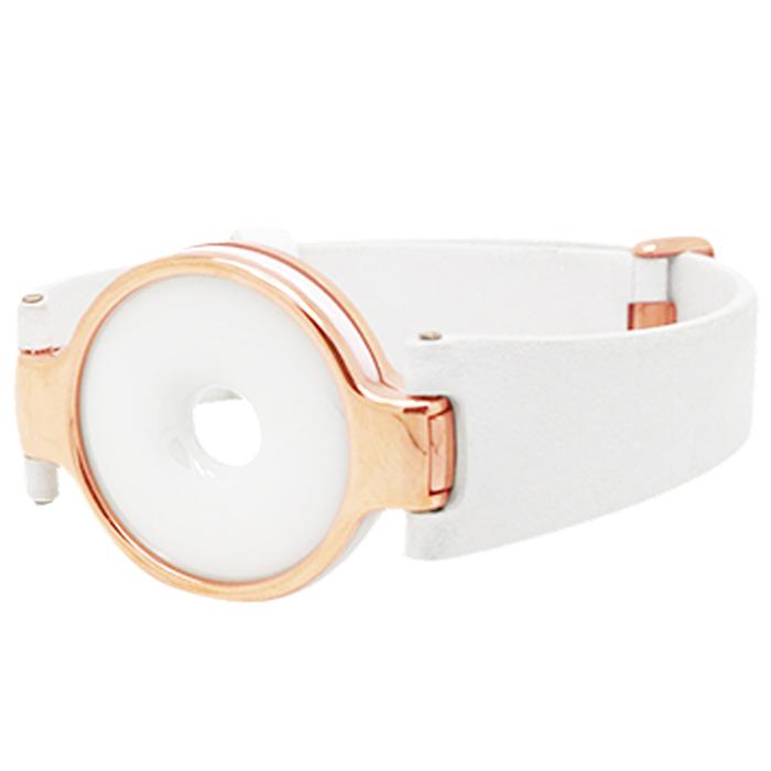 Amazfit 月霜赤道手環 時尚防水運動手環(智慧 藍芽 華米手錶 小米手環2)月霜(白)