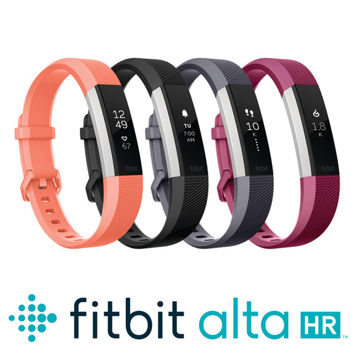 Fitbit Alta HR 心率運動手環紫紅色L