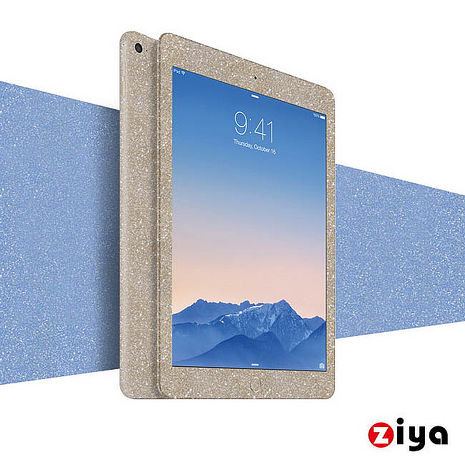[ZIYA] Apple iPad Mini 1 / 2 粉鑽機身保護貼 (閃耀奪目 Bling Bling)閃耀黑