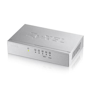 ZYXEL GS-105B V3 5埠桌上型超高速乙太網路交換器