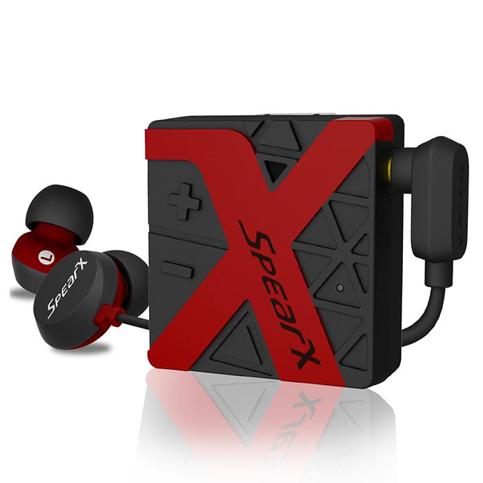 SpearX W1 運動防水藍牙耳機魅力紫