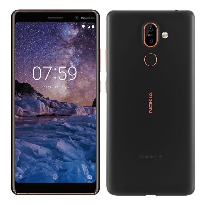 NOKIA 7 Plus 4G/64G 6吋智慧手機(月蘊黑)【原廠認證拆封福利品】