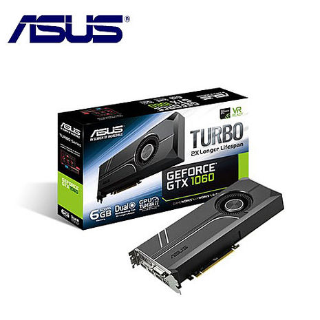 ASUS 華碩 TURBO-GTX1060-6G 顯示卡