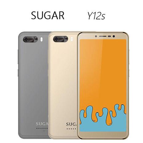 SUGAR Y12s (1GB/16GB) 18:9全螢幕手機金色