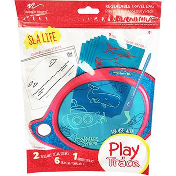 美國Boogie Board Play n Trace兒童繪畫板電子透明描寫板 / 塗鴉卡海洋生活