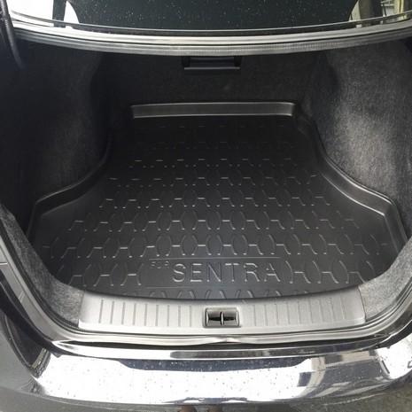 NISSAN 汽車後車箱防水托盤-專車專用2013~ BIG TIIDA